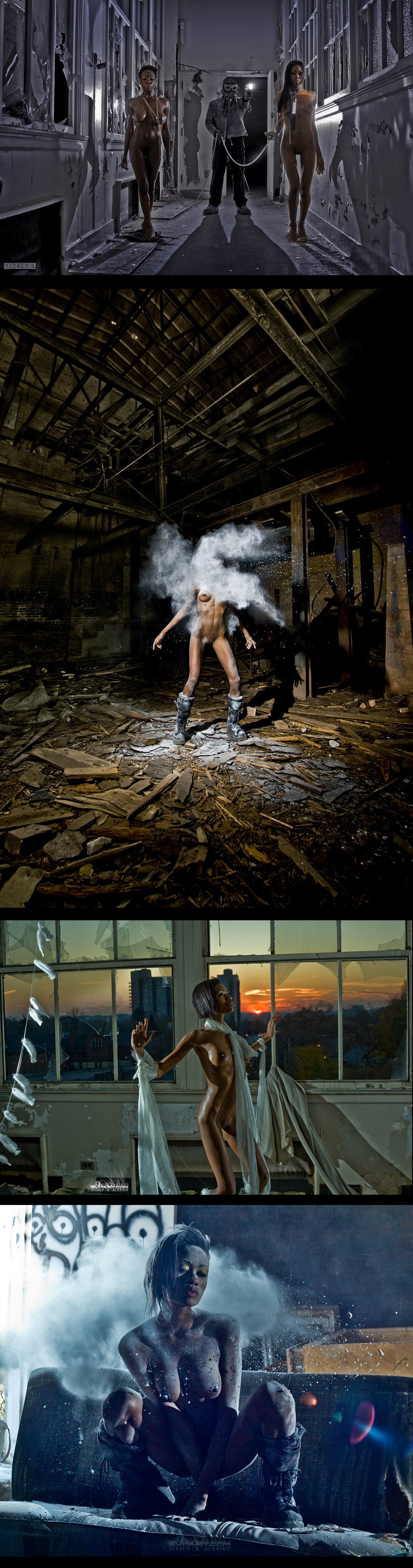 Nudes in Abandoned Places romanticallyapocalyptic.com